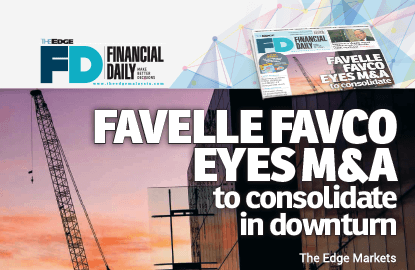 Favelle Favco eyes M&A to consolidate in downturn