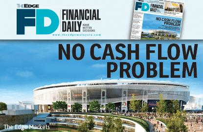 No cash flow problem, says MRCB