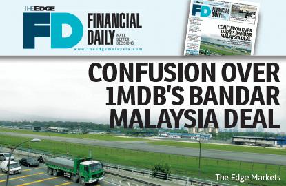 Confusion over 1MDB's Bandar Malaysia deal