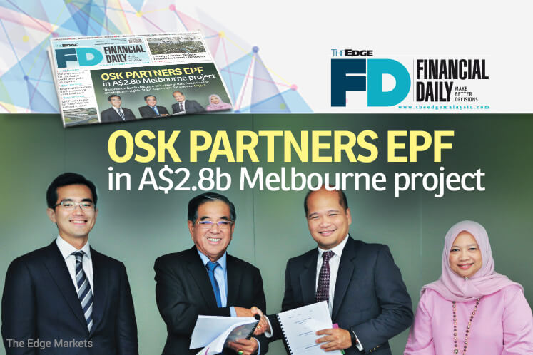 OSK partners EPF in A$2.8b Melbourne project