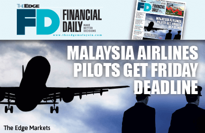 Malaysia Airlines pilots get Friday deadline