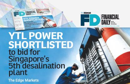 YTL Power shortlisted for S'pore desalination plant