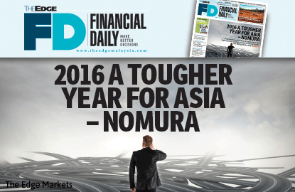 2016 a tougher year for Asia — Nomura