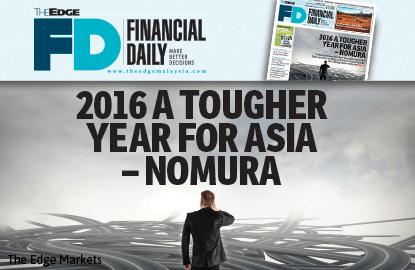 野村证券:2016为亚洲市场最艰巨的一年