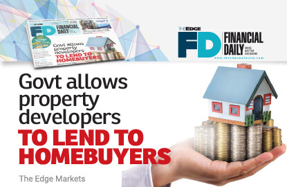 Govt allows developers to lend to homebuyers