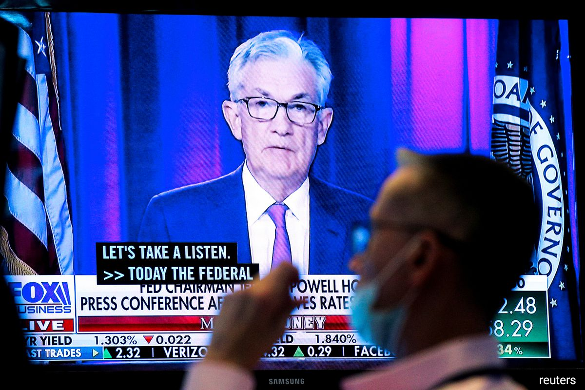 Fed Chairman Jerome Powell said the U.S. central bank could conclude its tapering process around the middle of next year, as long as the recovery remains on track.