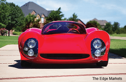 A US$9m 1967 'Ferrari' Thomassima is being sold on eBay