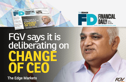 FGV deliberating on change of CEO