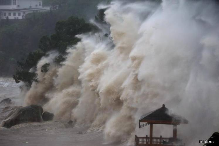 Typhoon Lingling approaches S Korea — weather agency