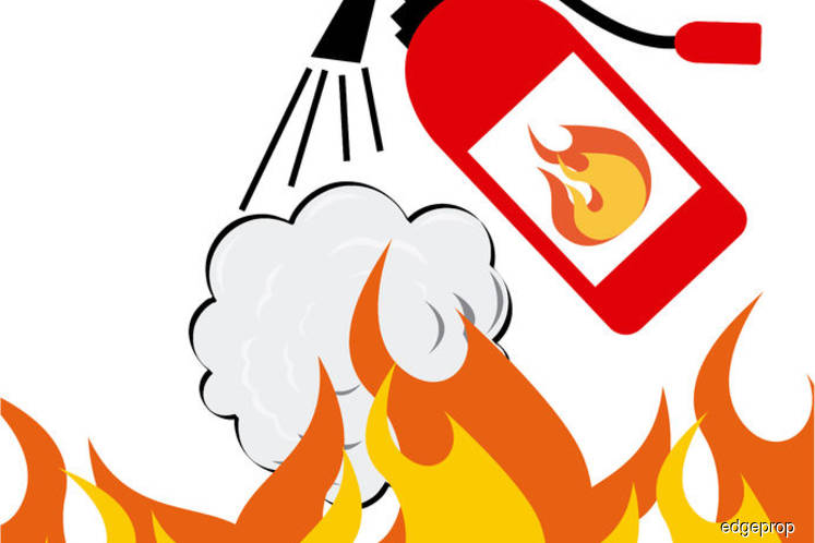 About 50% of high-risk buildings do not meet fire safety standards
