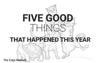 Five good things that happened this year