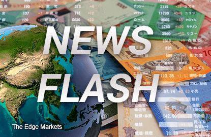 Ringgit weakens to 4.1628 against US dollar