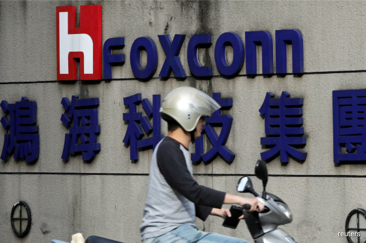 Foxconn, whose clients include tech giants such as Apple, reported a net profit of T$22.9 billion ($778.54 million) for the second quarter ended June.