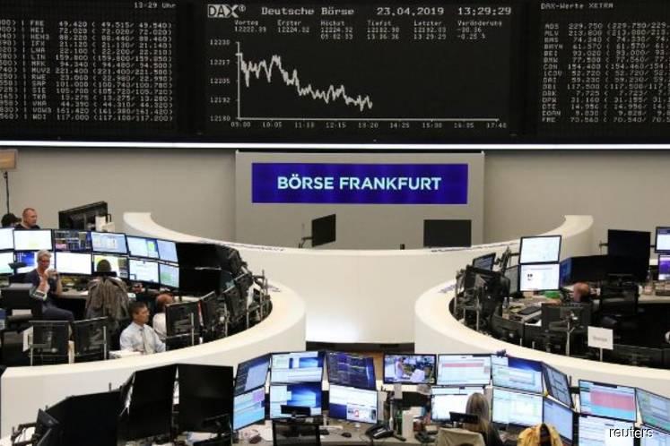 European stocks bounce back, eye best day since 2008