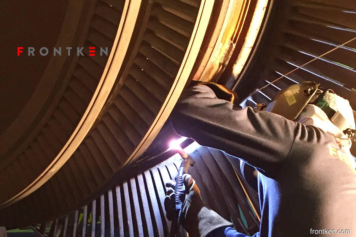 Frontken rises 1.63% on positive technicals, 5G prospects