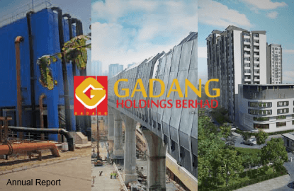Gadang's 3Q net profit leaps 55% on higher contributions from construction, utility