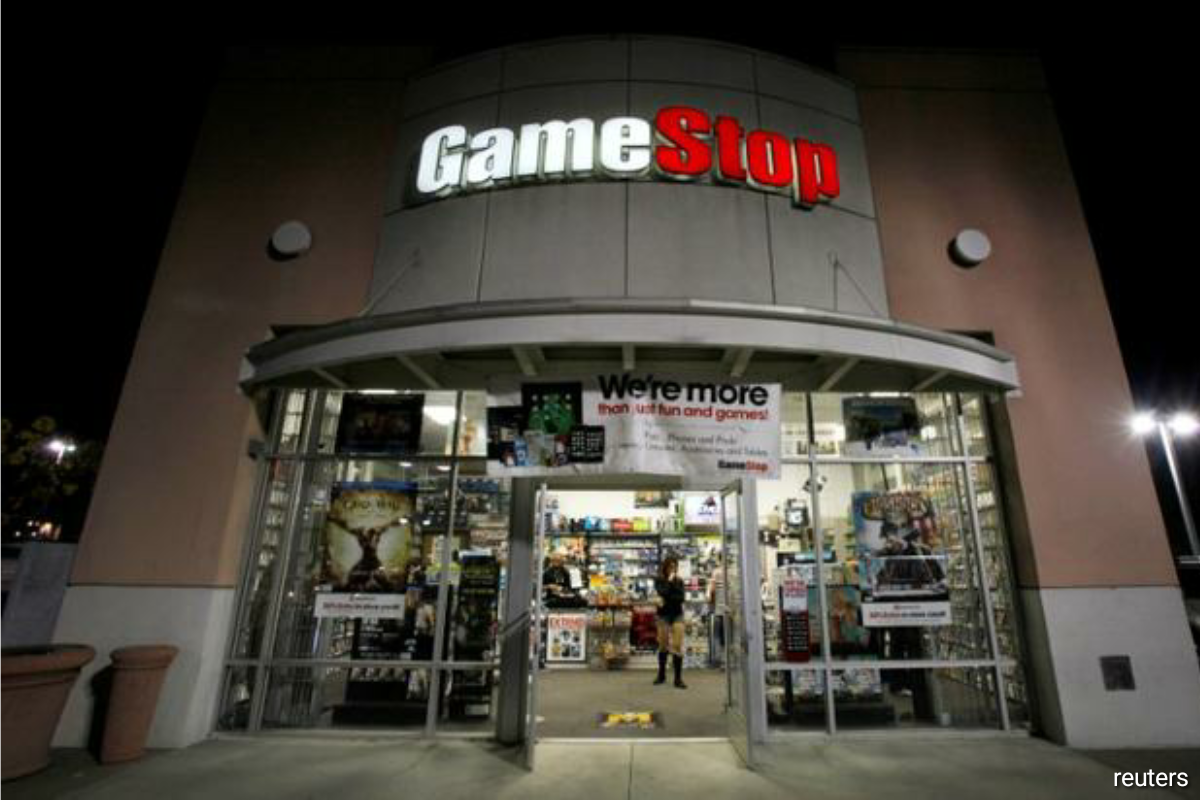 The video game retailer's after-hours surge added to a 93% jump during Tuesday's trading session, with the company's stock propelled by traders on Wallstreetbets, many of them buying volatile call options.