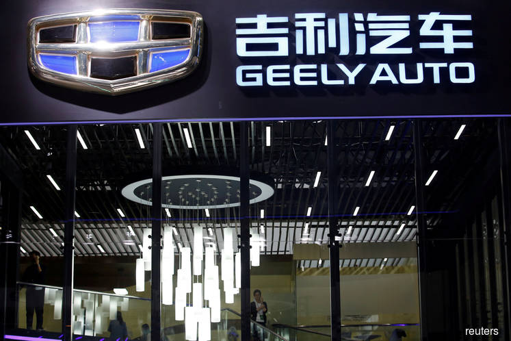 China's Geely says first-half profit drops 40%