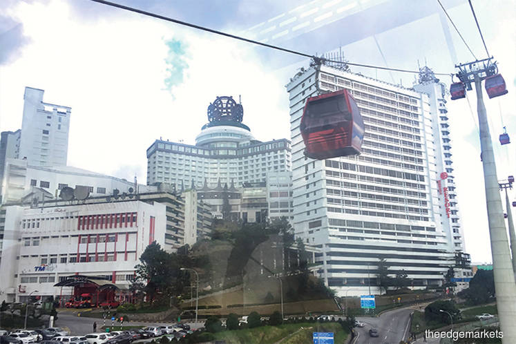 Genting Malaysia cut to neutral at Credit Suisse; price target RM3.40
