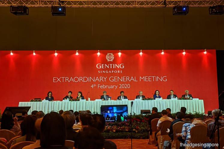 Genting Singapore will not tap shareholders for Japan IR bid