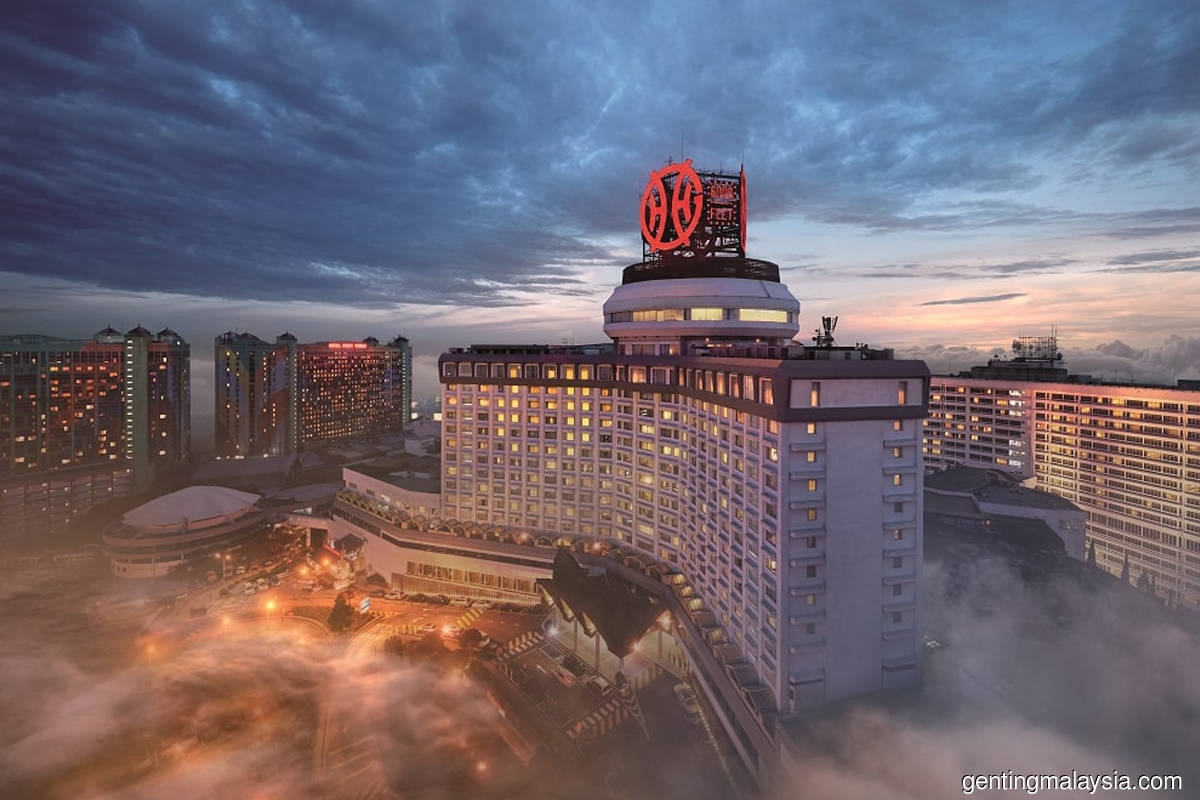Genting Malaysia budgets RM1b capex, said to be proposing US dollar bonds