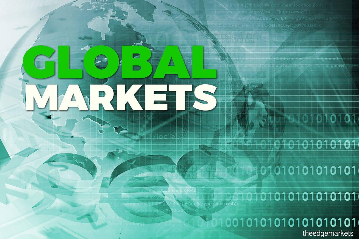 Global equities edge higher on upbeat earnings