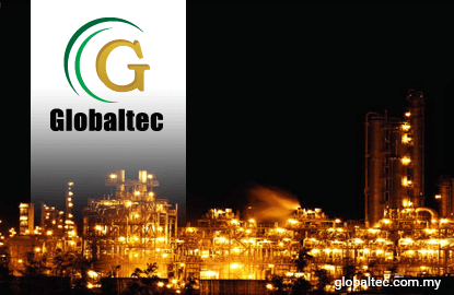 Globaltec jumps 9.1%, second most active stock