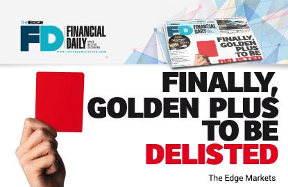 Golden Plus终将从马交所除牌