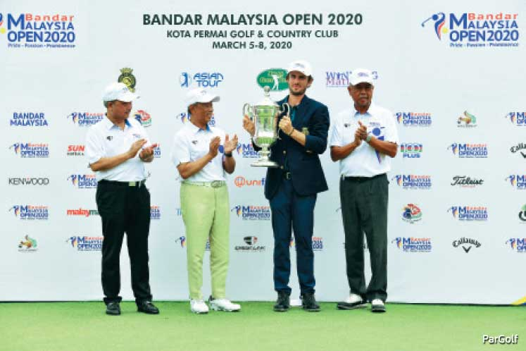 Simsby claims breakthrough win at Bandar Malaysia Open