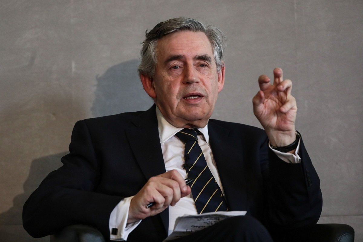 Gordon Brown (Photo by Bloomberg)