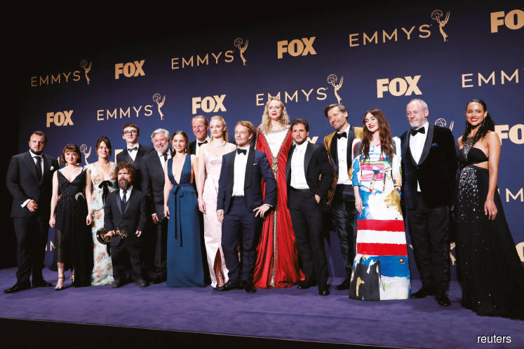 Game of Thrones ties Emmy record with drama series win