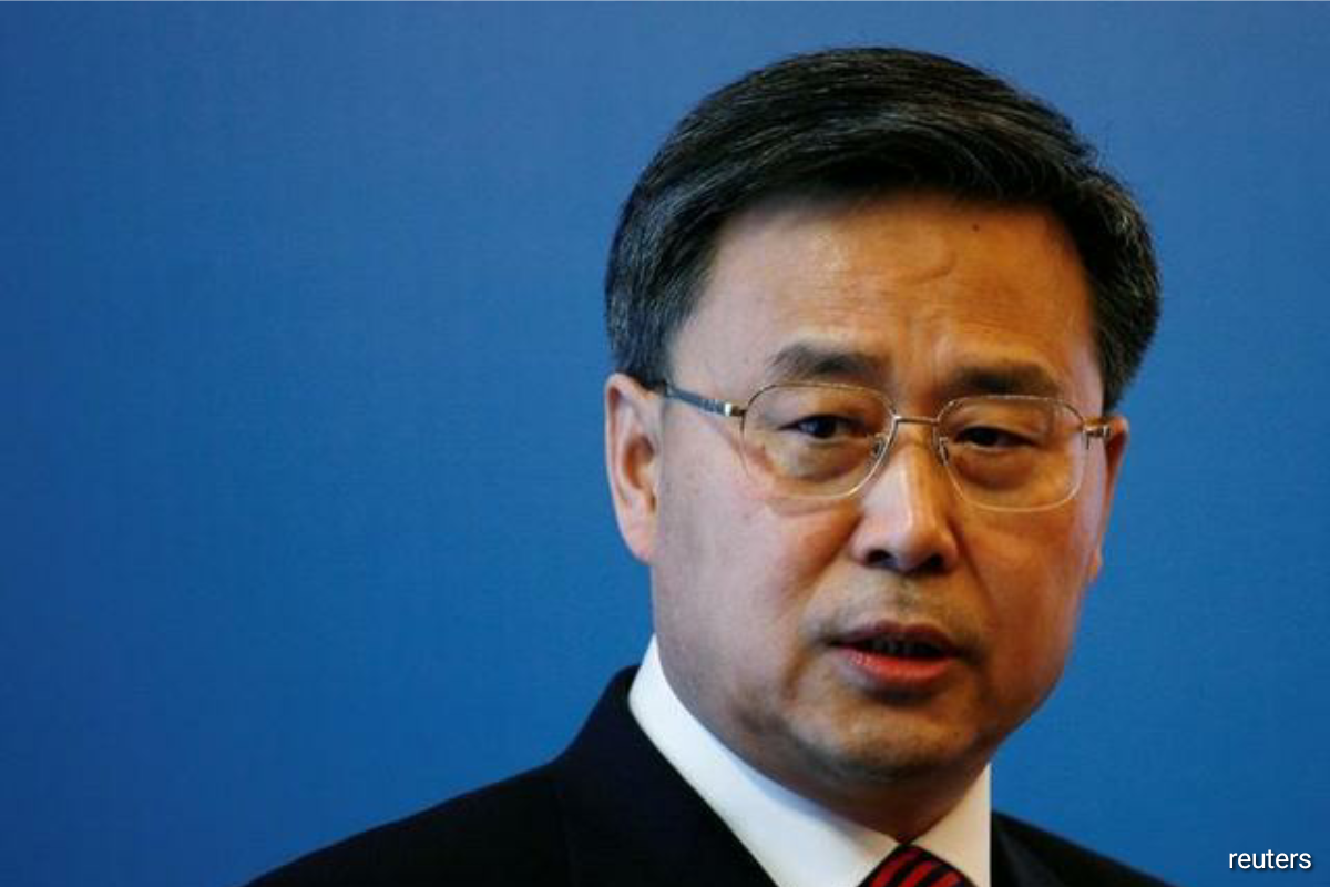 Guo Shuqing, head of the China Banking and Insurance Regulatory Commission