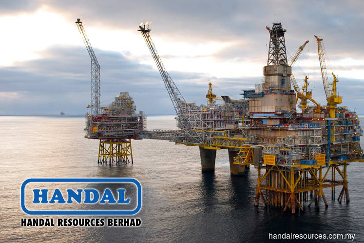 Handal rises 8.2% after directors plan to deal in securities