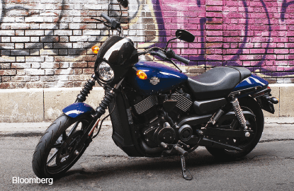 Harley's Street 750, the closest to a cafe racer