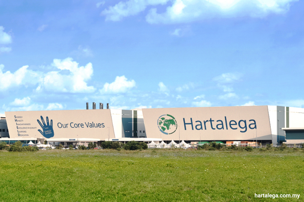 Hartalega down on profit taking after reporting profit rise