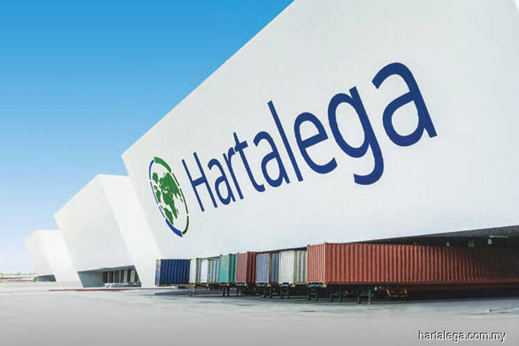 Hartalega drops; trading volume doubles