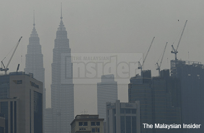 Slight haze improvement seen in some areas