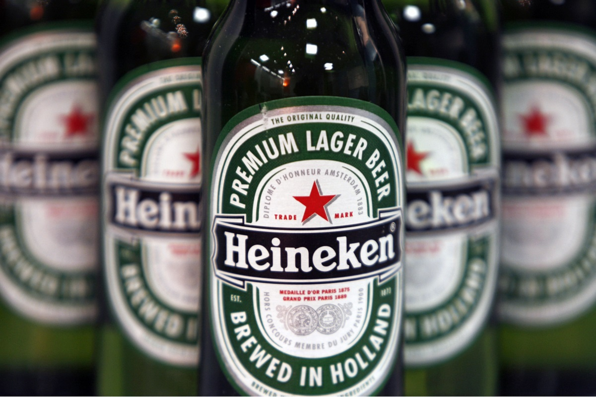 Heineken's European beer sales fall offset by rise in Africa, Asia
