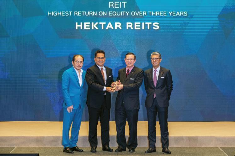 Highest return on equity over three years: REIT: Hektar REIT - Impressive returns amid sluggish retail sentiment