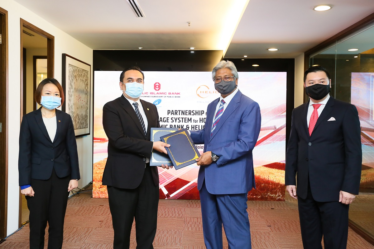 Helios, Public Islamic Bank team up for financing and installation of rooftop solar panels
