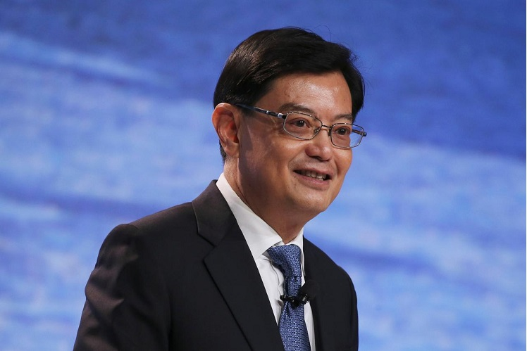 Singapore Deputy Prime Minister and Finance Minister Heng Swee Keat (Photo by Reuters)