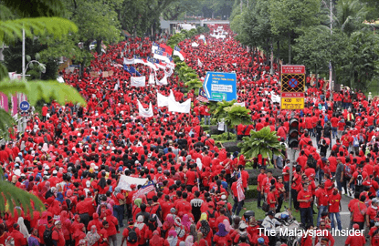 So, what was the 'red shirt' rally really all about