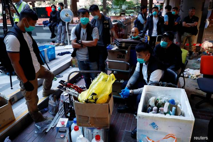 Hong Kong gears up for weekend protests after rare lull in violence