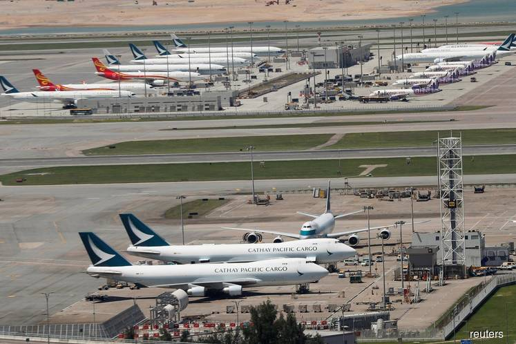 Airlines ask Hong Kong to waive airport fees as demand drops — letter
