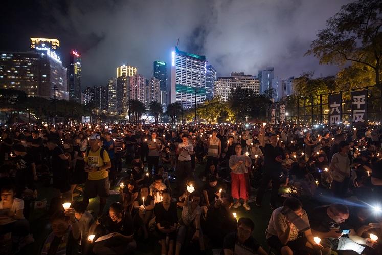 Hong Kong Tiananmen vigil may need to go online, organizer says