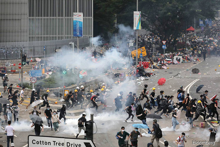 Police chief slams 'riot', defends use of tear gas, rubber bullets: Hong Kong protest update