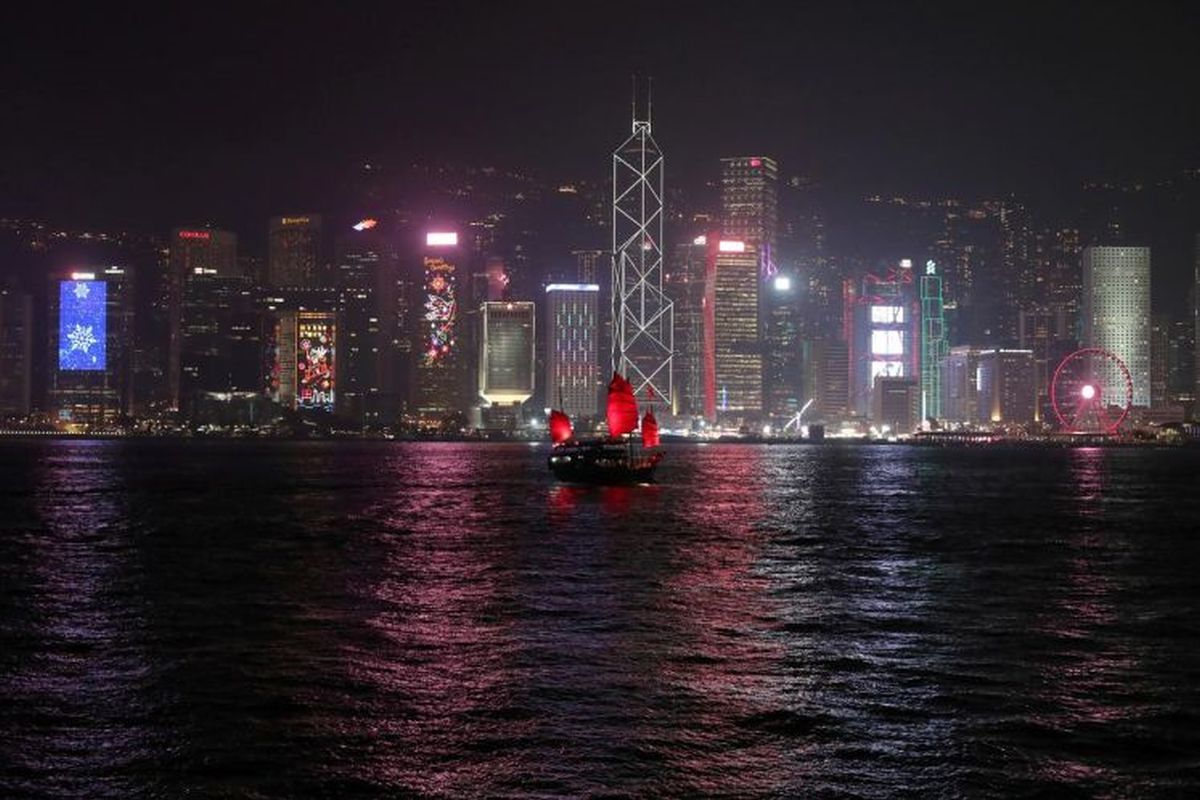 Hong Kong recession shows signs of slowing as China economy expands