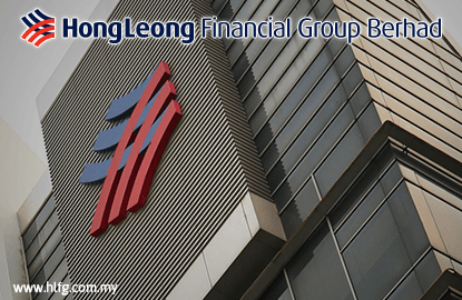 Hong Leong Financial's 3Q net profit down on year at RM315m, pays 25 sen dividend