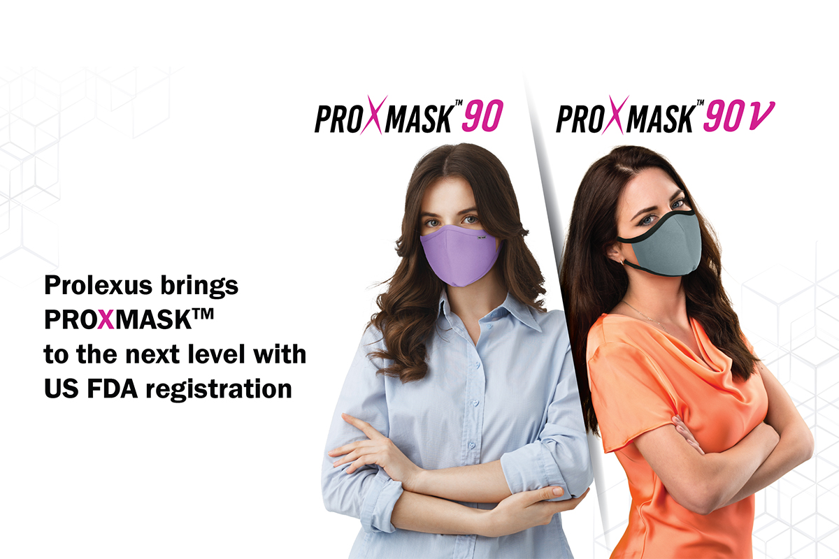 ProXmask™ registered with US FDA