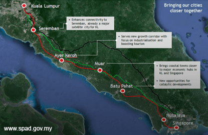 Malaysia, Singapore ink High Speed Rail MoU